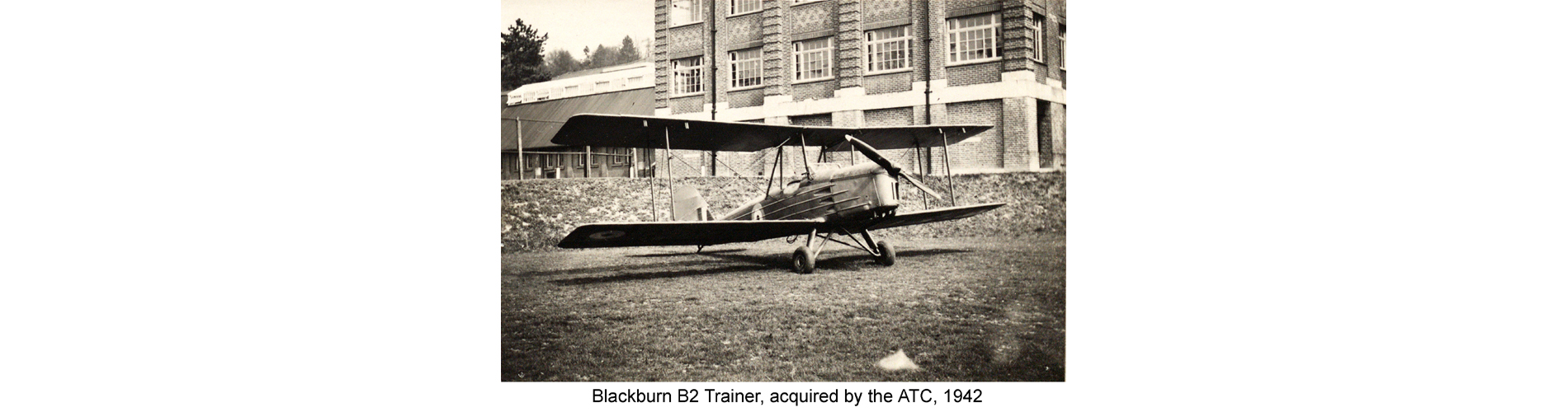Blackburn B2 Trainer, acquired by the ATC, 1942