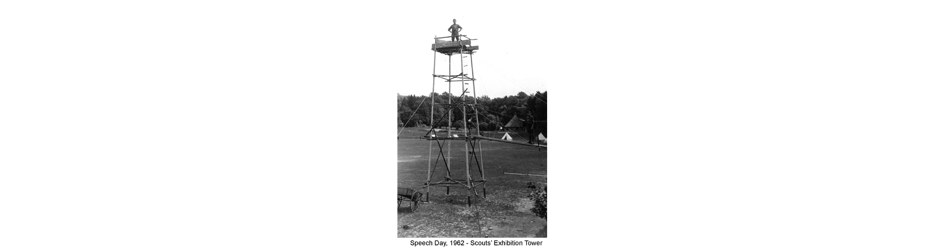 Speech Day, 1962  - Scouts' Exhibition Tower